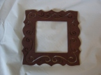 Chocolate Brown Small Frame hand painted Price: $3.00
