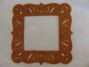 Raw Sienna Small Frame hand painted Price: $3.00